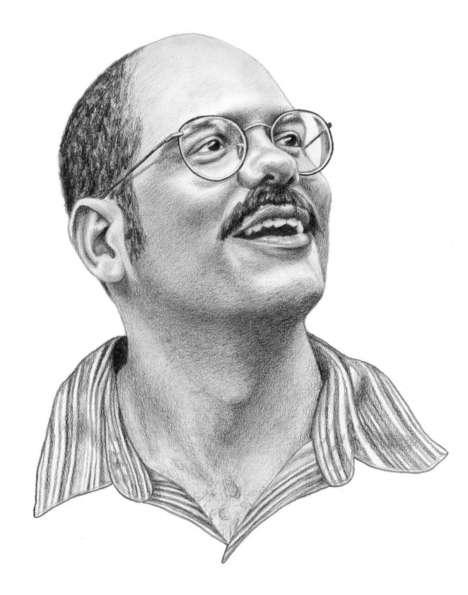 Sketched Sitcom Character Portraits