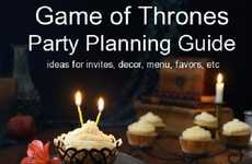 Fantasy Show Party Planners - This Game of Thrones Party Book Helps You Plan a Fantasy Party