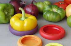 Fresh Produce-Preserving Seals - Food Huggers are Simply Adorable Kitchen Tools for Preserving Food