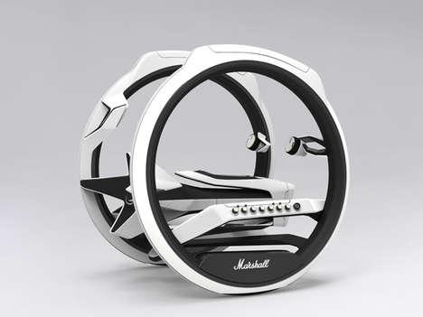 Sound-Pumping Motorbikes