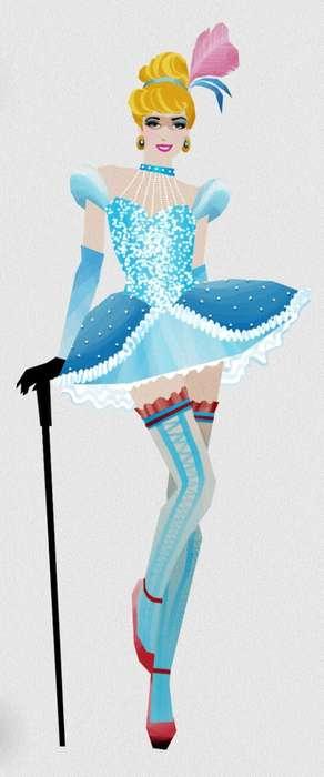 Scantily Clad Princess Depictions