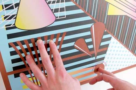 Music-Creating Wall Art