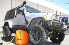 Inflatable Roadside Equipment - The Bushranger X-Jack Can Offer a Lift on Unstable Ground