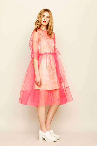 Girly Gossamer Fashion - The ASOS Molly Goddard Collection is Sweet and Dreamy