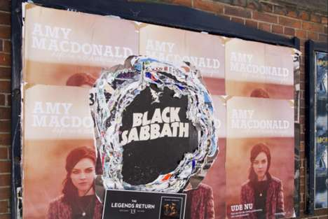 Longevity-Expressing Advertisements - Black Sabbath Just Released a New Album Along With Cool Ads
