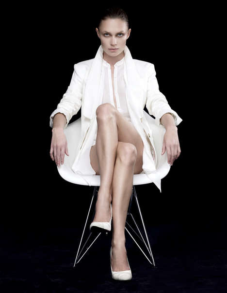 Elegant Colorless Fashion Photography