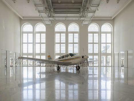 Punctured Plane Sculptures