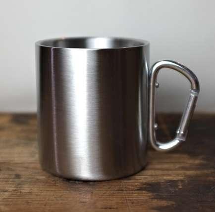 Convenient Carabiner Mugs