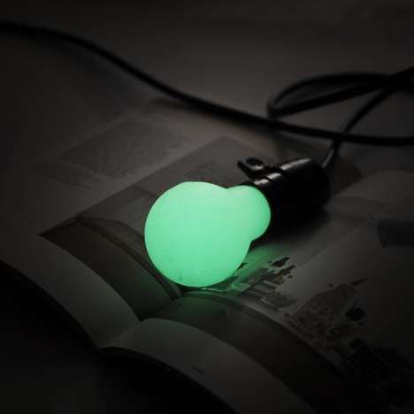 DIY Phosphorescent Light Bulbs