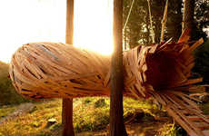 Suspended Nature Hideouts - The Cocoon was Created for Nature Lovers to Leisurely Lounge In