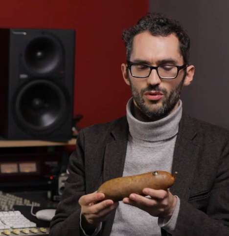 Sausage-Infused Music Instruments - Meat Music is a Very Interesting Take on Modern Melodies