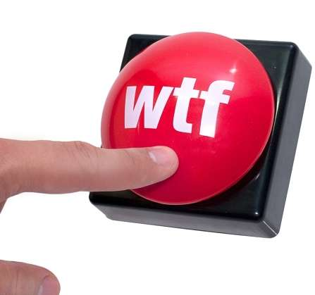 Rude Desk Accessories - These WTF Buttons Express Your True Emotions