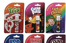 Breakfast Cereal Lip Balms - Collect Your Favorite Flavors From Lucky Charms to Count Chocula