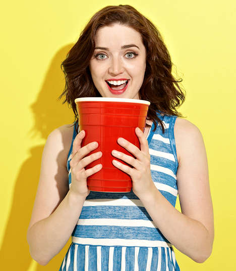 Unnecessarily Large Beer Cups  - The Gigantic Red Party Cup Should Be Part of Every Party
