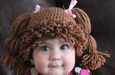 Cute Crocheted Kid Wigs