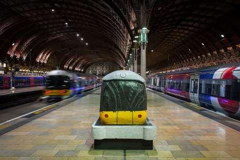 Life-Sized Train Cakes