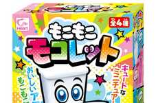 Foaming Toilet Confectionaries - The 'Moko Moko Mokoletto' Toilet Candy is Eccentric and Fun