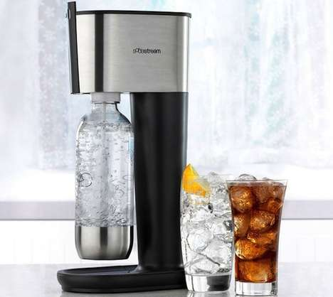 Compact Beverage Carbonators