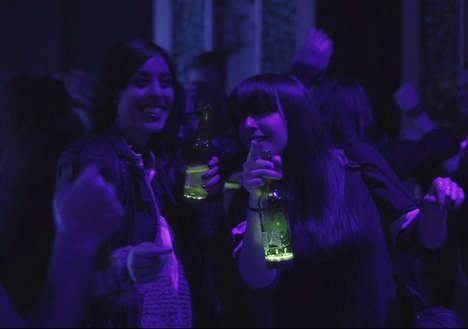 Illuminated Beer Bottles