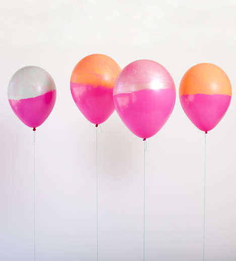 DIY Punchy Party Balloons