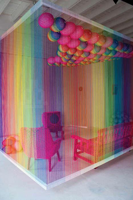 Rainbow Commentary Installations
