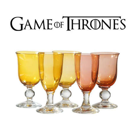 Medieval Fantasy Goblets - These Cup Designs from the HBO Series Go Great with Any Dinner Table