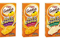 Cheesy Snack Food Pastas - Pepperidge Farm Now has Goldfish-Themed Macaroni and Cheese