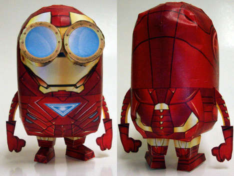 Sinister Superhero Paper Crafts