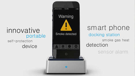 Smoke-Detecting Phone Docks