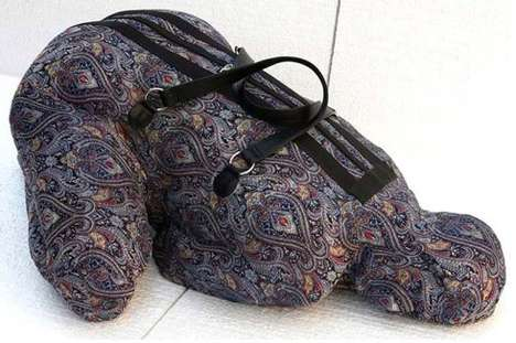 Objectified Female Luggage - The Women Luggage by Nausheen Saeed Highlight the Plight of Many Women