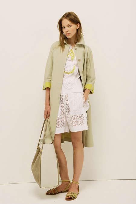 Summery Silk Fashion