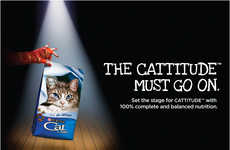 Musical-Inspired Cat Ads - These CATS Cat Food Ads for Purina Celebrate Attitude