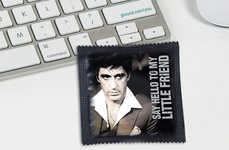 Humorous Pop Culture Condoms