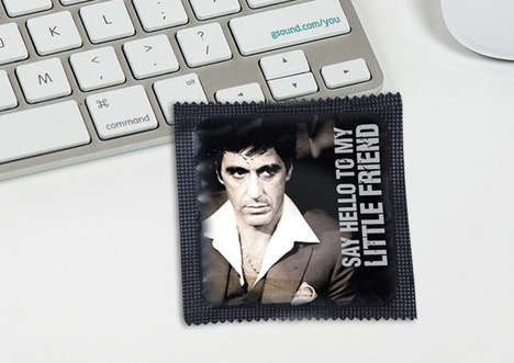 Humorous Pop Culture Condoms - These Condom Wrappers Will Definitely Put a Smile on Your Face