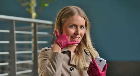 Inconspicuous Phone Designs - The Phone Glove is an Interesting Step Towards Wearable Technology