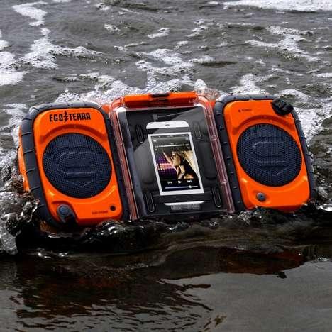 Rugged Adventure-Proof Speakers