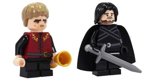 Fantasy Toy Block Figurines - These Game of Thrones LEGO Toys are Great Gifts to Fans of the Series