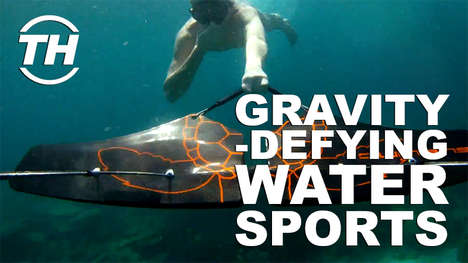 Gravity-Defying Water Sports