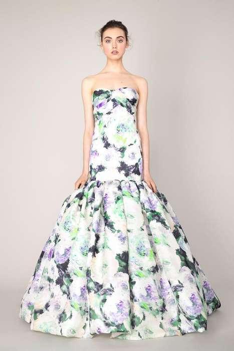 French Garden-Inspired Fashion
