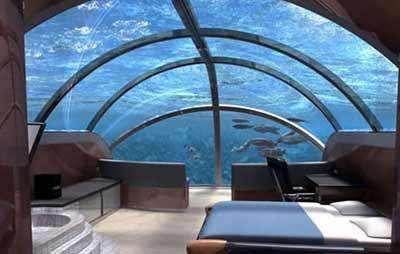 11 Striking Underwater Hotels