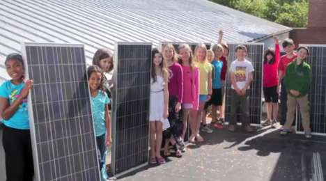 Climate Change-Fighting Classrooms - This Fourth Grade Class Built a Solar-Powered Classroom