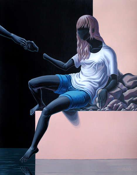 Faceless Surrealism Depictions