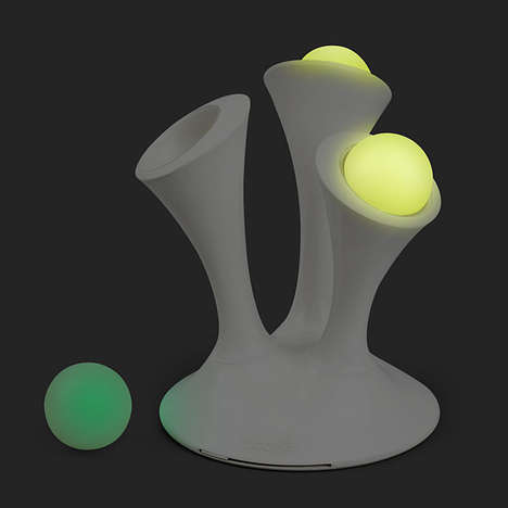 Magical Portable Nightlights - This Glowing Globe Light Makes The Dark Less Scary