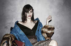 Sweatily Disheveled Fashion Ads - The Prada Fall Campaign is Proper but Not Necessarily Prim