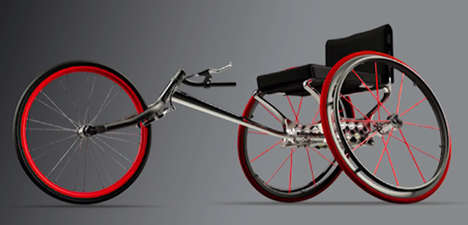 Adjustable Athletic Wheelchairs - The CrossTrainer by Andrew Lowe Makes Sport Participation Easier