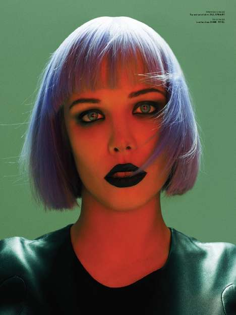 Purple Punk Editorials