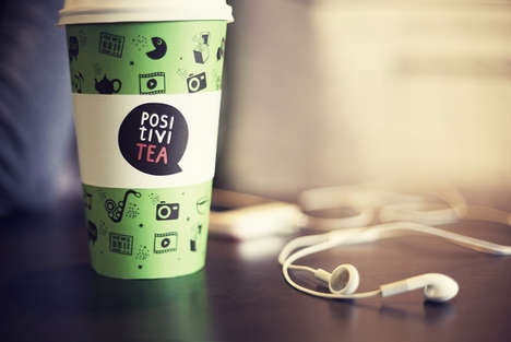 Content-Sharing Coffee Cups