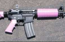 Feminized Assault Rifles - These Stock Sets Turn Your AR-15 Pink