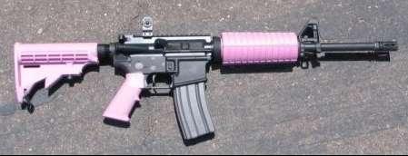 Feminized Assault Rifles