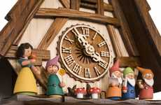Romantic Fairy Tale Clocks - The Snow White and the Seven Dwarfs Cuckoo Clock is Nostalgically Cute
